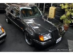 M・ベンツ500E ディーラー車 左ハンドル 整備記録簿 黒革内装