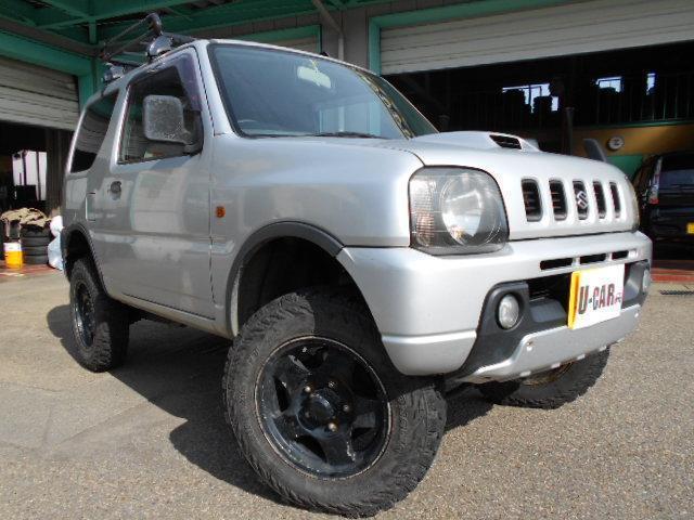 スズキ 4ナンバーバン登録 リフトアップ 4WD