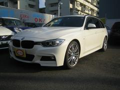 BMW 320iツーリング Mスポーツ 黒革 19インチAW ACC
