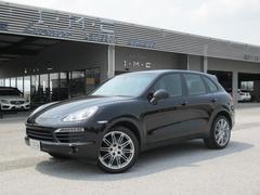 カイエン3.6 ティプトロニックS 4WD 黒革シート 1オーナー