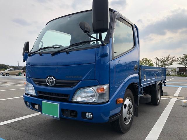 トヨタ トヨエース ロングフルジャストロー ワンオーナー・ユーザー買取り車!!軽油ターボ・エアバック・キーレス・ETC