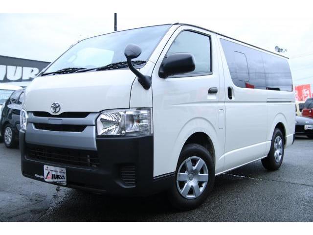 トヨタ ロングDX 9人乗り トヨタセーフティセンス ナビ