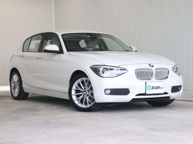 BMW 1シリーズ 116i ファッショニスタ 禁煙車 革シート HDDナビ