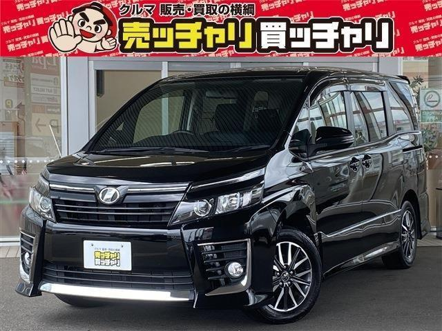 トヨタ ヴォクシー ZS 7人乗 純正ナビ・TV LEDヘッドライト