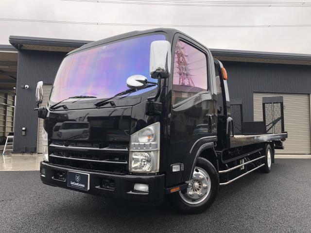 いすゞ エルフトラック 積載車