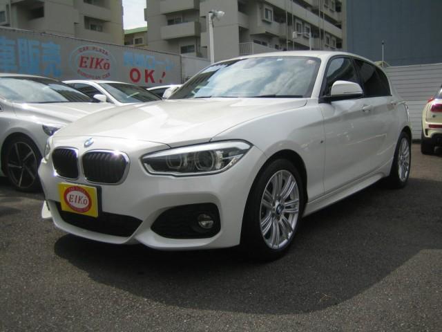BMW 1シリーズ 118d Mスポーツ 衝突軽減 ナビ 地デジTV 1オーナー