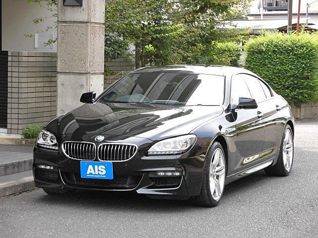 BMW 6シリーズ 640iグランクーペ Mスポーツパッケージ 純正ナビ フルセグTV ブラウンレザーシート コンフォートアクセス LEDヘッドライト 19インチAW