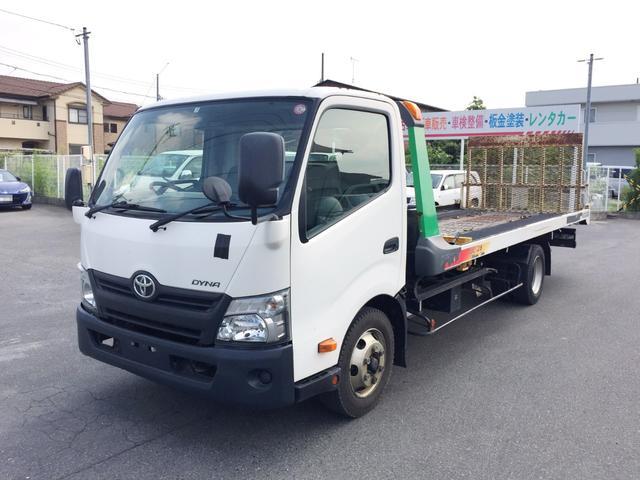 トヨタ ダイナトラック  1台積み セルフ 3t ラジコン有り イクリプスナビTV