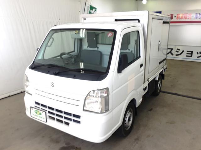 スズキ キャリイトラック 2WAYタイプ冷凍車 カロッツェリアナビTV バックモニター