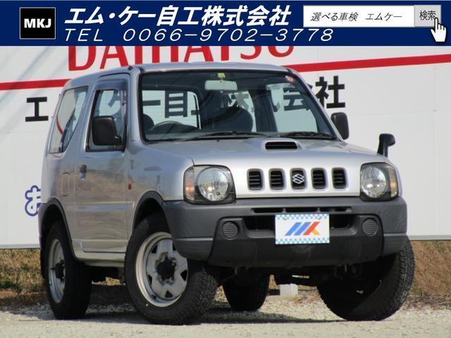 スズキ ジムニー XA 5MT ターボ ETC パートタイム4WD