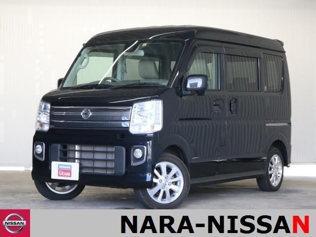 日産 NV100クリッパーリオ E 4WD ナビ エマージェンシーブレーキ 左オートスライド インテリキー