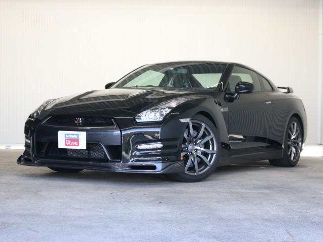日産 GT-R ブラックエディション 専用レカロシートサスペーションバージョンアップKIT純正ナビクルコンFリップスポイラーシートヒーター