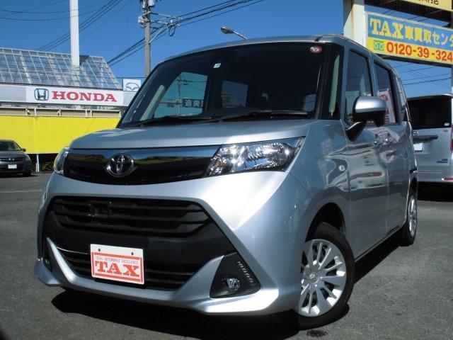 トヨタ タンク X S スマートアシスト パワースライドドア ナビTV 純正LEDフォグランプ