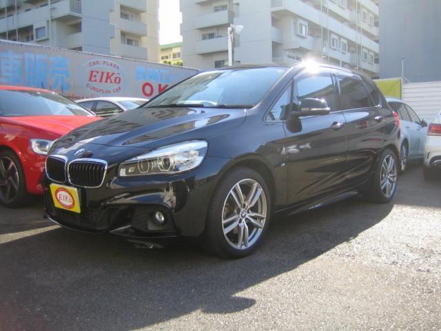 BMW 2シリーズ 218dアクティブツアラー Mスポーツ インテリジェントセーフティー 純正ナビ フルセグTV バックカメラ 1オーナー