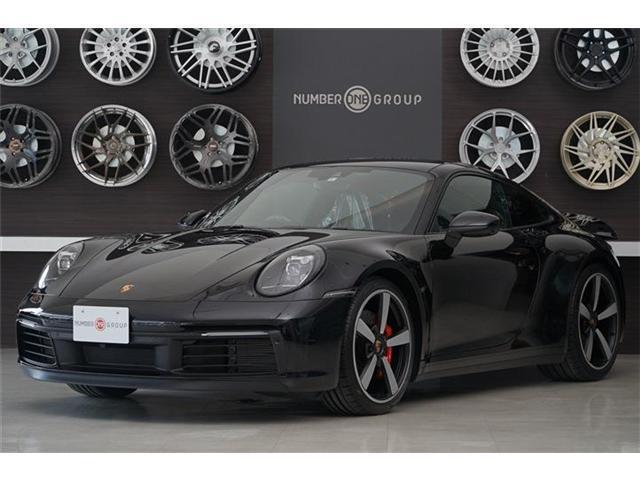 ポルシェ 911 911カレラS スポーツクロノパッケージ スポーツエグゾースト ジェットブラックメタリック PASAM付スポーツサスペンション 20/21インチカレラホイール レッドキャリパー スポーツシート パワステプラス