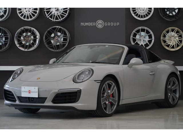 ポルシェ 911 911タルガ4S クレヨン タルガロールバー スポーツクロノパッケージ スポーツエグゾースト 20インチカレラスポーツホイール LEDメインブラックヘッドライト ティンテッドテールライト アダプティブクルーズコントロル