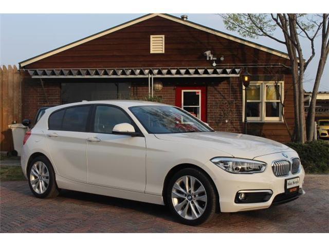 BMW 1シリーズ 120i スタイル 純正ナビ フルセグTV バックカメラ ETC HID 障害物センサー 純正AW