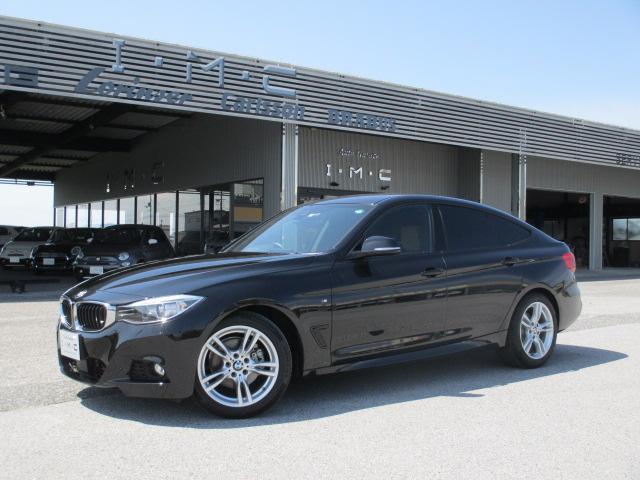 BMW 320iグランツーリスモ Mスポーツ 純正HDDナビ&Bカメラ&ミラーETC ブラウン本革シート スマートキー アダプティブクルーズC レーンディパージャーW インテリジェントS パワーバックドア パドルS シートヒータ-  1オーナー
