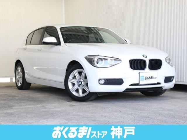 BMW 1シリーズ 116i 純正HDDナビ クルコン ETC i-stop