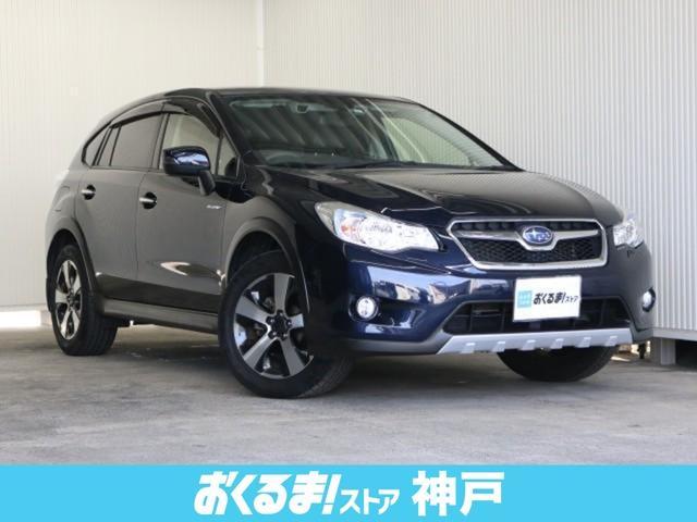スバル 2.0i-L アイサイト 4WD 黒革シート 純正ナビ