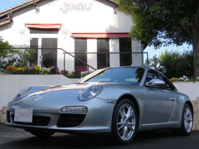ポルシェ 911 911カレラ 3.6 PDK ディーラー車 レザーシート シートヒーター キセノンライト スポーツクロノ PSM ナビ TV バックカメラ ETC 左ハンドル