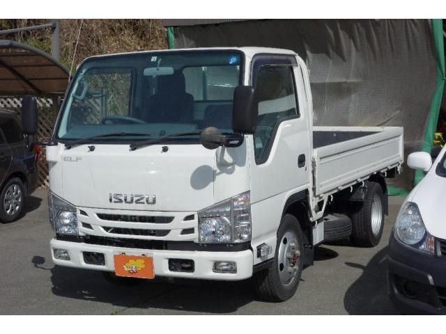 いすゞ エルフトラック  2t 平ボディー 4WD 5MT ETC アイドリングストップ