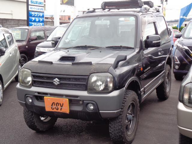 スズキ ランドベンチャー MT リフトアップ 社外アルミ 4WD キーレス シートヒーター ETC