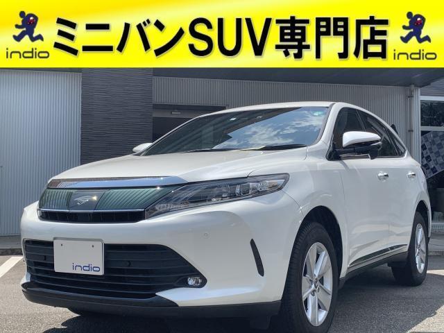 トヨタ ハリアー エレガンス 純正SDナビフルセグTV クリアランスソナー トヨタセーフティセンス 後期モデル