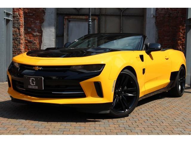 シボレー コンバーチブルLT RS 正規ディーラー車 ブラックソフトトップ トランスフォーマー仕様 AppleCarPlay&AndroidAuto シートヒーター シートベンチレーション