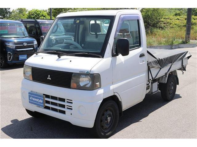 三菱 ミニキャブトラック  V 4WD 作業灯 ETC 5MT