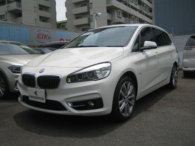 BMW 218dグランツアラー ラグジュアリー コンフォートアクセス パノラマサンルーフ 本革パワーシート 地デジ 1オーナー