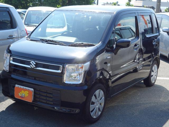 スズキ ハイブリッドFX 4WD シートヒーター 社外ナビ 社外TV バックカメラ アイドリングストップ