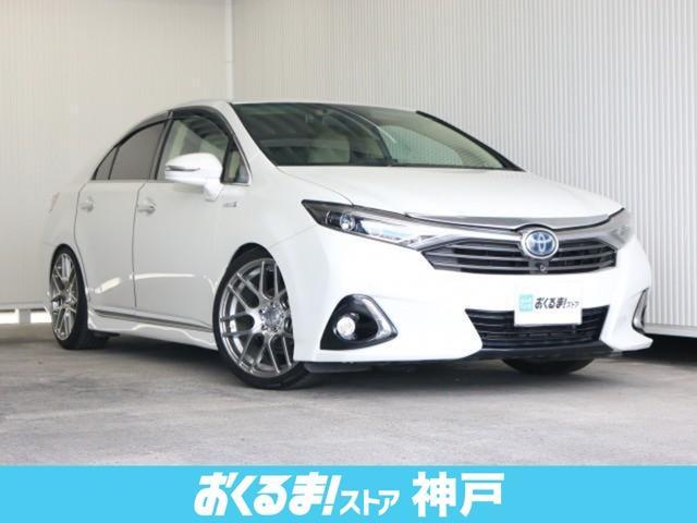 トヨタ SAI G Aパッケージ SDナビTV 外19インチAW ローダウン