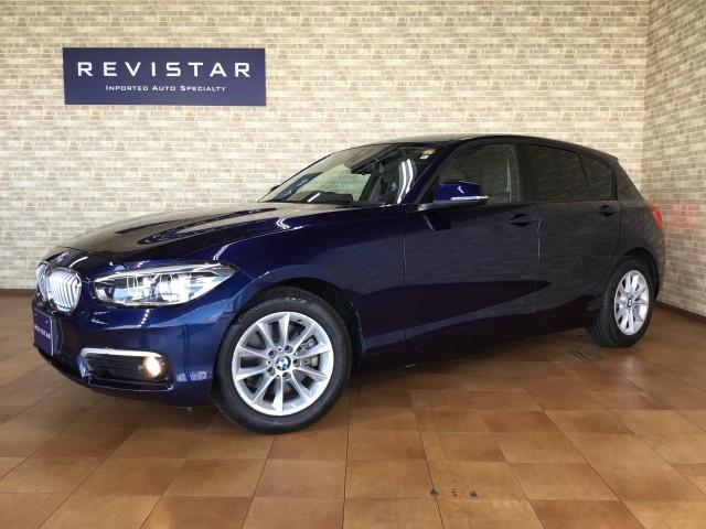 BMW 1シリーズ 118i スタイル インテリジェントセフティ・追突軽減車・ナビ・フルセグTV・ハーフレザーシート・Bluetooth・USB・バックカメラ・コーナーセンサー・コンフォートアクセス・車線逸脱警告・クルーズコントロール