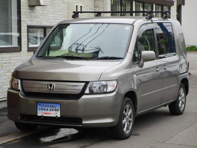 ホンダ モビリオスパイク AU 4WD 車検R4年5月30迄 タイミングチェーン車 CD キーレス
