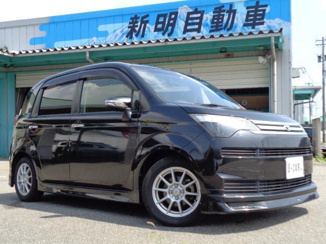 トヨタ スペイド G エアロナビバックモニタースマートキーETC