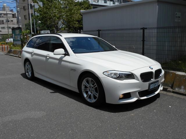 BMW 5シリーズ 523iツーリング Mスポーツ 禁煙車 ナビ TV Rカメラ キセノンライト 専用スポーツシート プッシュスタート コンフォートアクセス 18インチアルミ