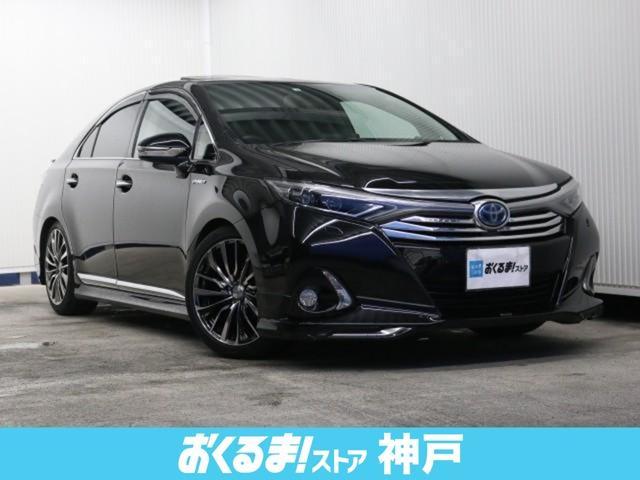 トヨタ SAI G Aパッケージ 黒本革シート サンルーフ モデリスタエアロ