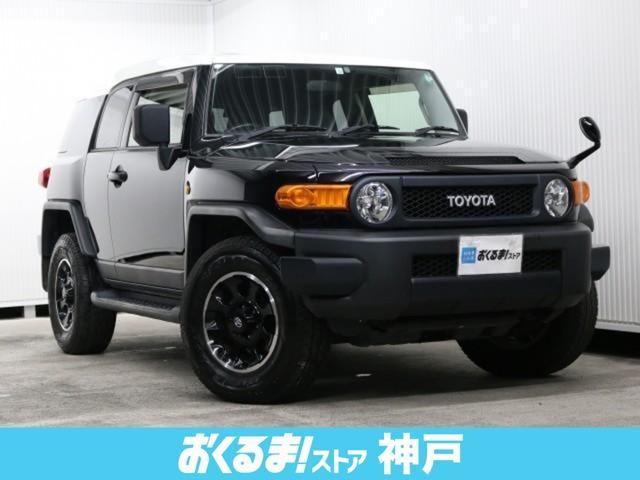 トヨタ FJクルーザー ブラックカラーパッケージ 4WD 純正ナビ フルセグ ETC