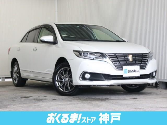 トヨタ 1.8X EXパッケージ OP装備車 茶色本革シート