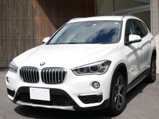 BMW X1 sDrive 18i xライン 正規ディーラー車 1オーナー禁煙 BMWディーラー整備記録 取説 スペアキー 純正ナビ CD DVD バックカメラ 前後ソナー LEDヘッドライト LEDポジションランプ 電動トランク スマートキー