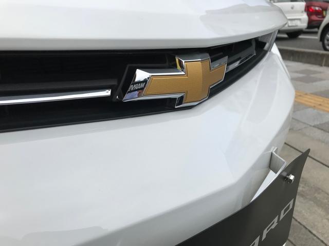 シボレー シボレー カマロ LTRS 新車未登録車 サミットホワイト