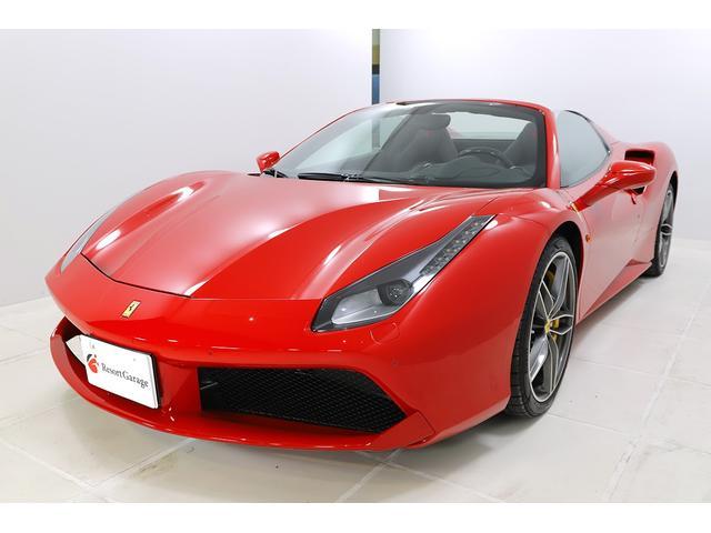 「フェラーリ」「フェラーリ 488スパイダー」「オープンカー」「静岡県」の中古車4