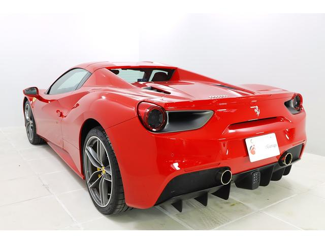 「フェラーリ」「フェラーリ 488スパイダー」「オープンカー」「静岡県」の中古車5