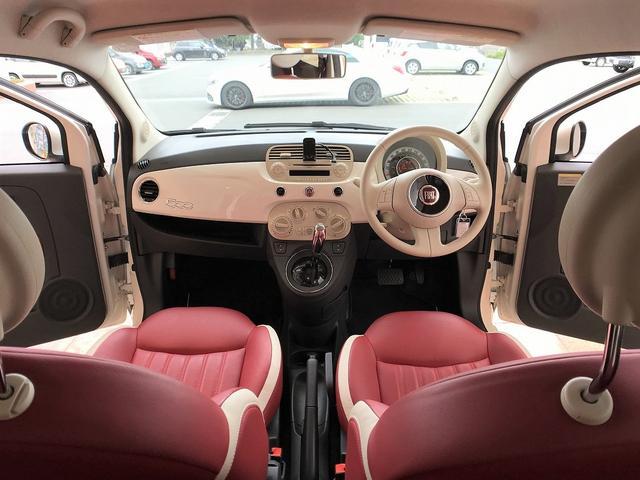 「フィアット」「500(チンクエチェント)」「コンパクトカー」「静岡県」の中古車9