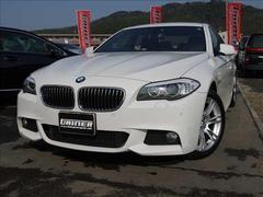 BMW523i Mスポーツ 右ハンドル Goo鑑定車 ワンオーナー