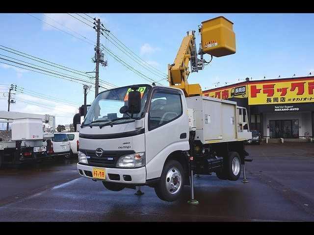 日野 0.5t 4WD FJL 標準 8m 高所作業車