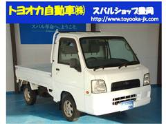 サンバートラックTB 4WD カセット エアコン パワステ AT車