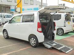 ワゴンR スロープ車 リヤシート付 車イス電動固定式 非課税 福祉車両(スズキ)