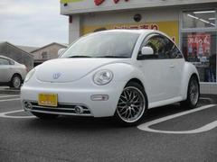 VW ニュービートルPlus 黒革シート サンルーフ 社外AW